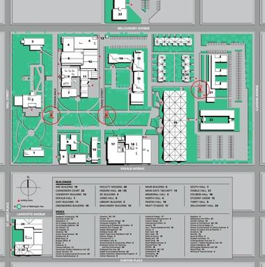 Pratt Campus Wayfinding